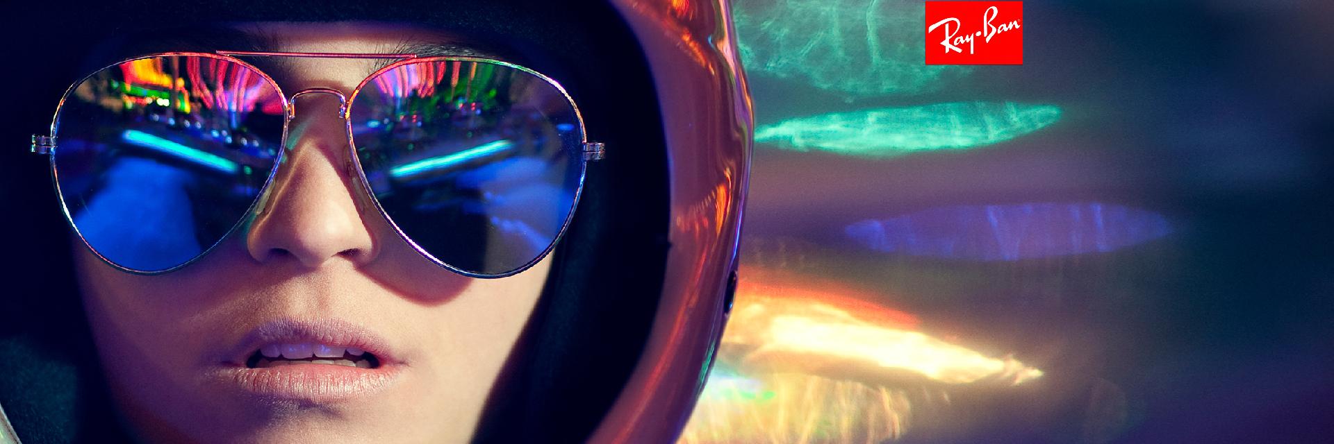 banner lentes de sol rayban